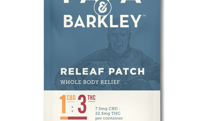Papa & Barkley Releaf™ Patch 1:3 CBD:THC