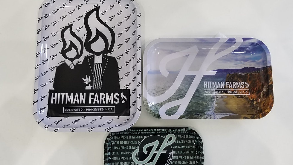 Hitman Farms Metal Rolling Tray