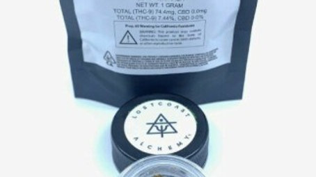 Lost Coast Alchemy Bubble Hash