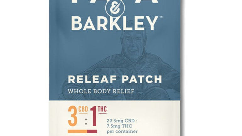 Papa & Barkley Releaf™ Patch 3:1 CBD:THC
