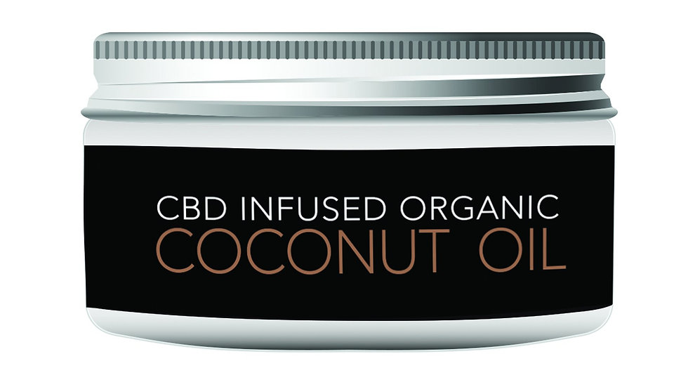 OrganiCBD Coconut Oil