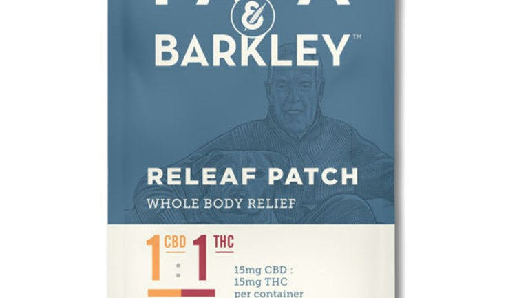 Papa & Barkley Releaf™ Patch 1:1 CBD:THC
