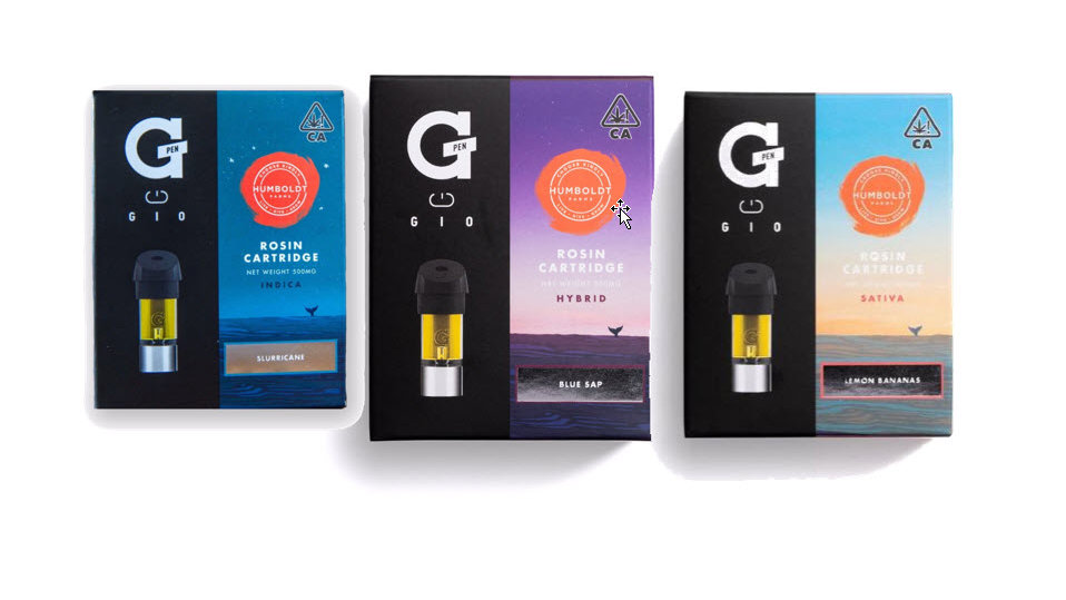 GIO Cartridge By Humboldt Farms - 500mg