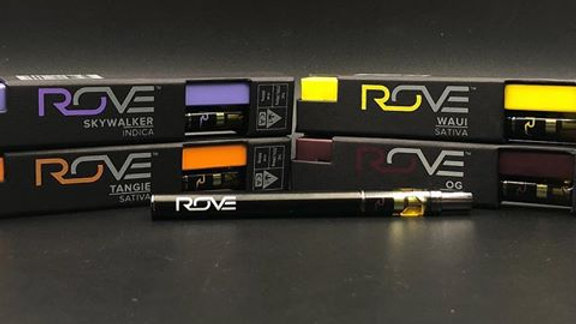 Rove Disposable Vape Pen 400 mg-Various Strains
