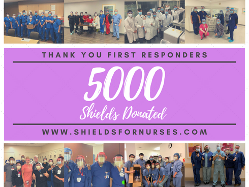 Thank you all! 5000 SHIELDS DONATED!