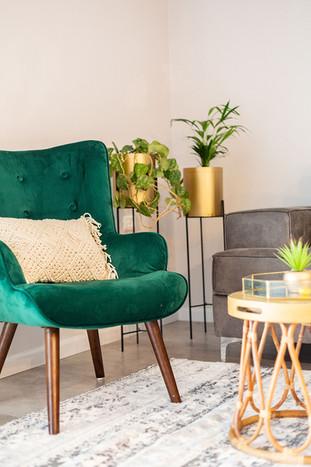 כורסא בסלון