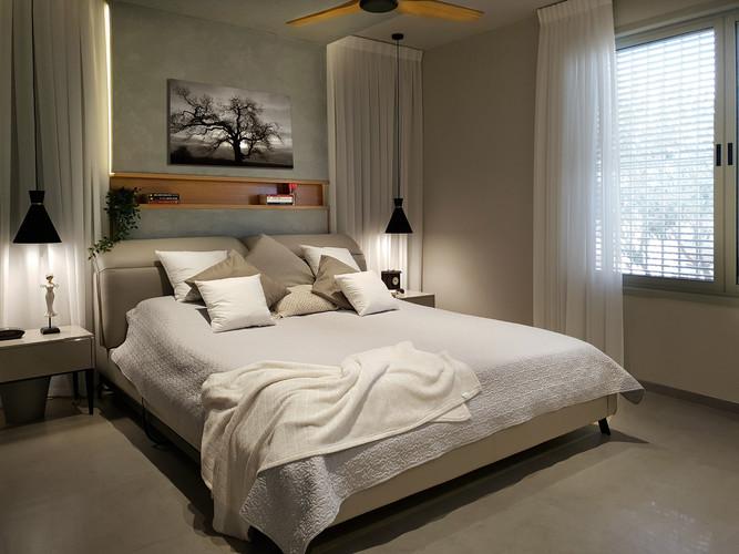מבט לחדר השינה