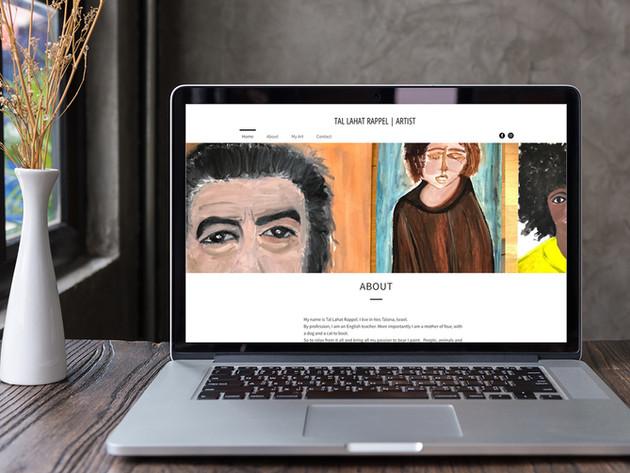 Tal Rappel Artist Website