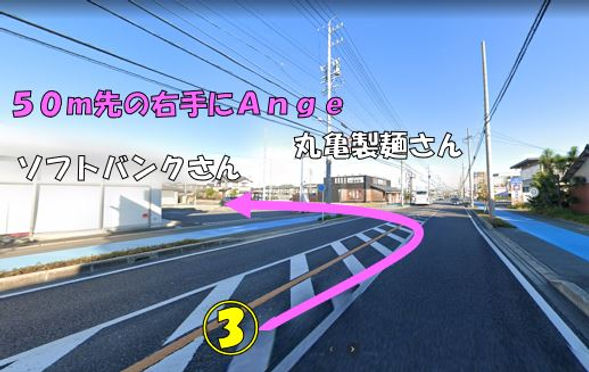 安城市の名鉄桜井駅からの行き方(写真3)