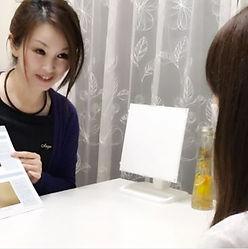 安城市(安城)の脱毛&美肌エステサロンAnge(アンジュ)のVIO脱毛に関するカウンセリング