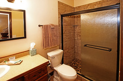 Private bathroom in each guest room