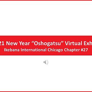 "2021 New Year ""Oshogatsu"" Virtual Exhibit"