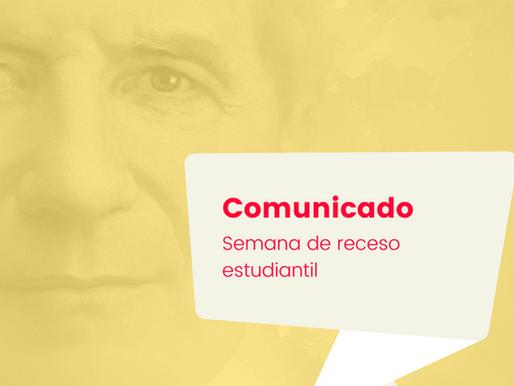 Comunicado: Institución Educativa