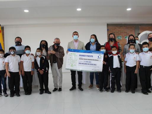 Institución Educativa Don Bosco ganó concurso de Aulas Sostenibles