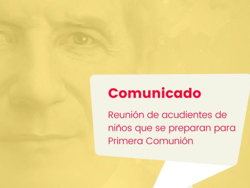 Comunicado | Oratorio Garelli