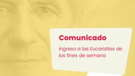 Comunicado: Capilla María Auxiliadora