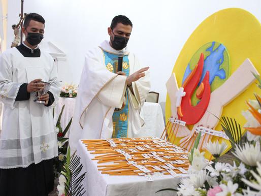 Eucaristía de lápices, un momento para orar y pedir a Dios por el futuro de nuestros jóvenes