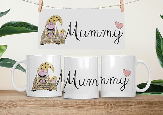 The Cornish Gnome - Mothers Day Mug -Mummy Toddler Girl
