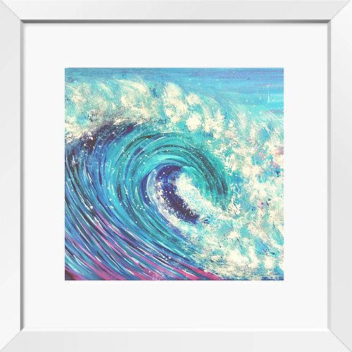 Wave painting (Rainbow Wave) | Print