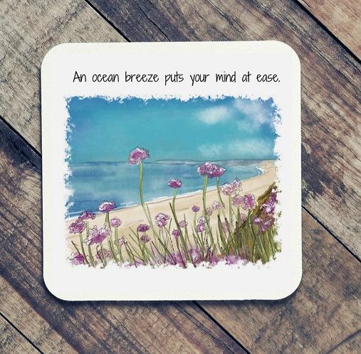 Quote Art Coaster, Breeze