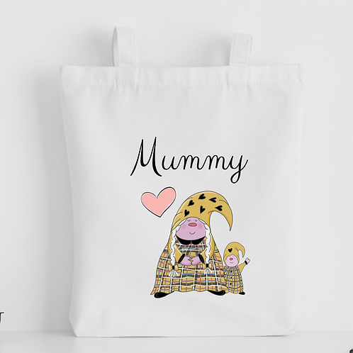 The Cornish Gnome Mothers Day Tote Bag - Mummy Toddler boy