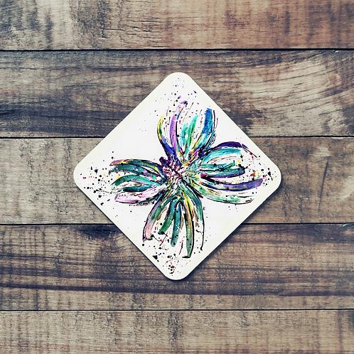 Animal Aura - Coaster - Butterfly Bright