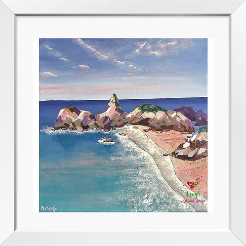 Kynace Cove painting | Print