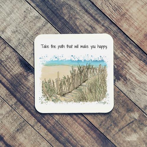 Quote Art Coaster, ThePath