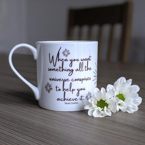 Inspiring quote mug - Odyssey range - Universe