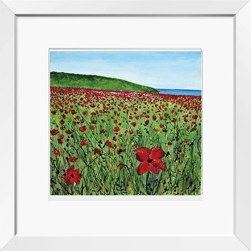 Polly Joke poppies painting | Print