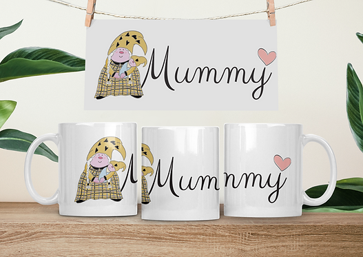 The Cornish Gnome - Mothers Day Mug -Mummy Baby Boy