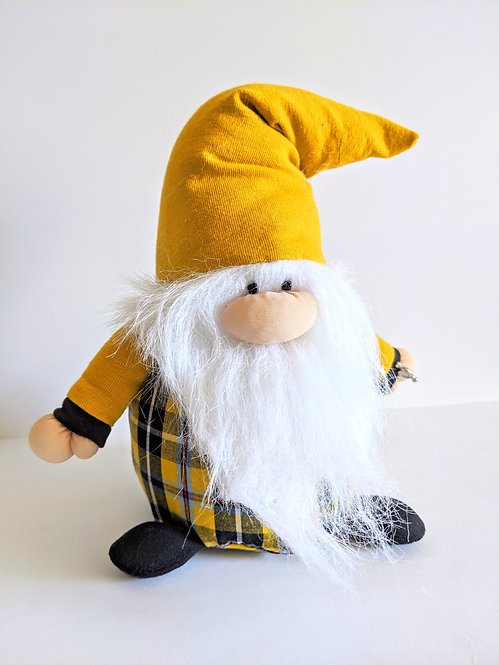 The Cornish Gnome 'Dreckly' - handmade plush collectable