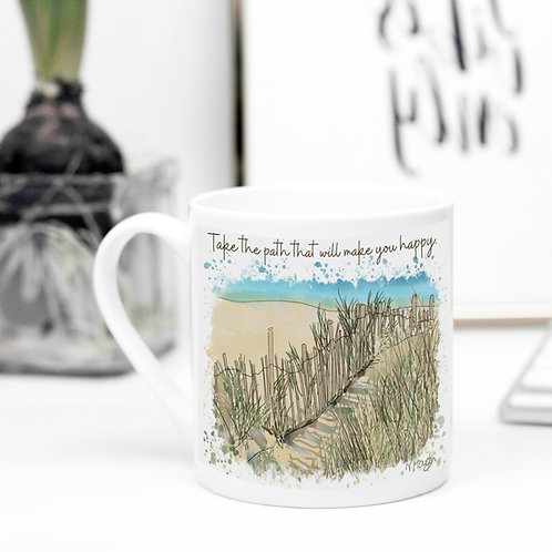 Quote Art Mug, The Path