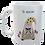 Thumbnail: Cornish Gnome Mug - Dearovim - Ceramic , hand printed, personalise option