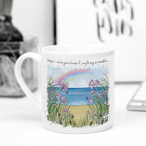 Quote Art Mug, Hope