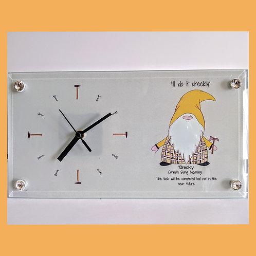 Dreckly Clock