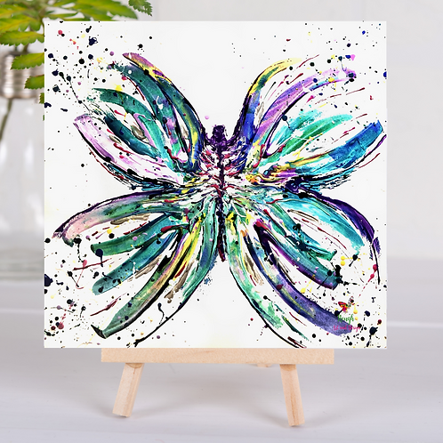 Animal Aura - Butterfly Bright - Greetings Card