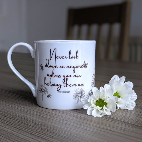 Compassion quote mug - Grace range - Helping