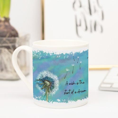 Quote Art Mug, The Wish