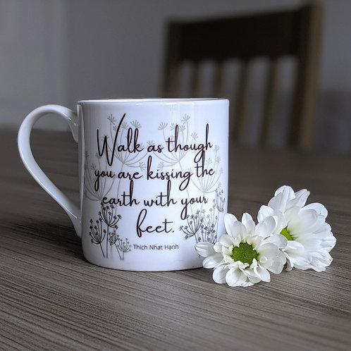 Minfulness quote mug - Bodhi range -Earth