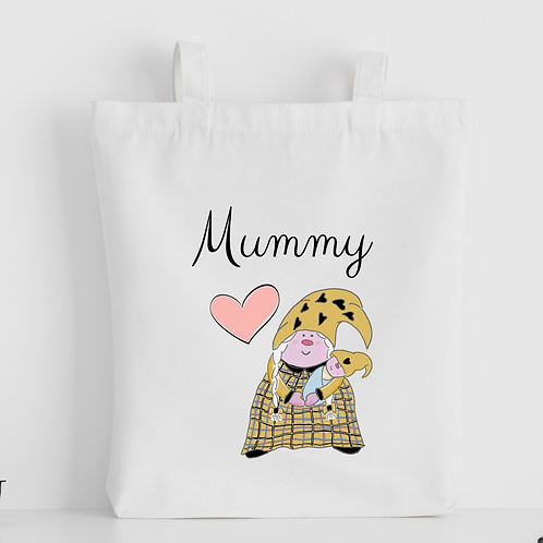 The Cornish Gnome Mothers Day Tote Bag - Mummy Baby Boy