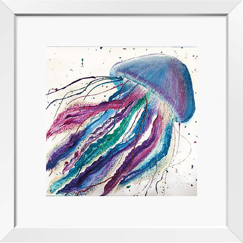 Jellyfish painting (Jubilant Jellyfish)   Print