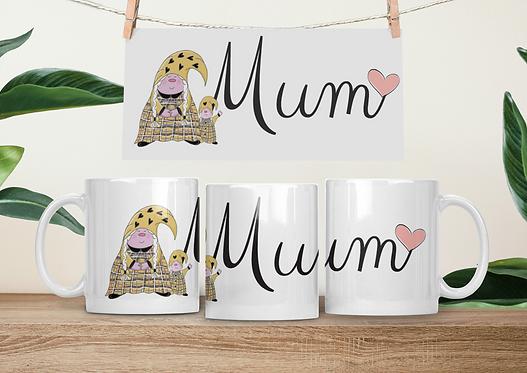 The Cornish Gnome - Mothers Day Mug -Mum Toddler Girl
