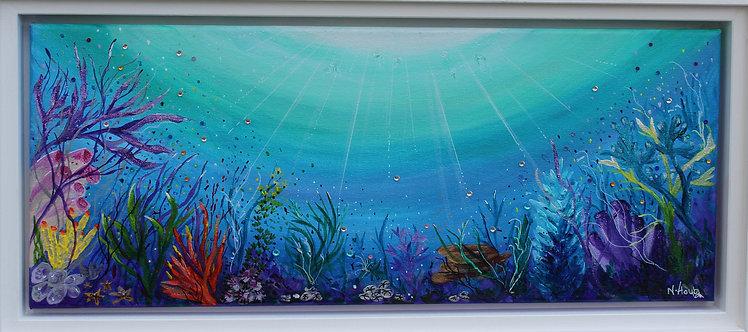 Ocean reef painting | Print
