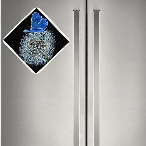 Animal Aura - Magnet - Butterfly Dandelion