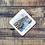 Thumbnail: Art of Cornwall coaster, Fowey (fowescape), Cornwall