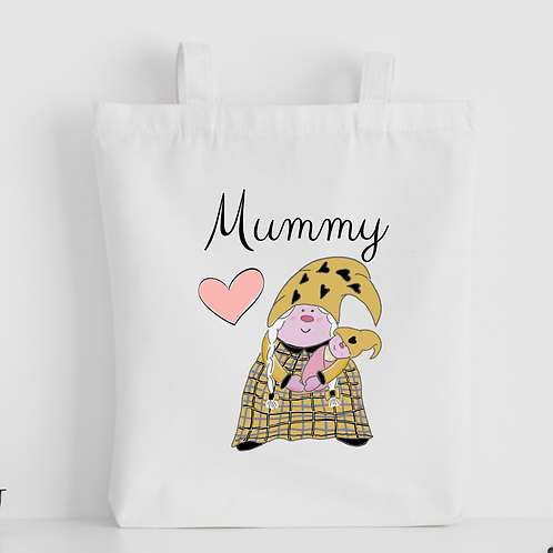 The Cornish Gnome Mothers Day Tote Bag - Mummy Baby Girl