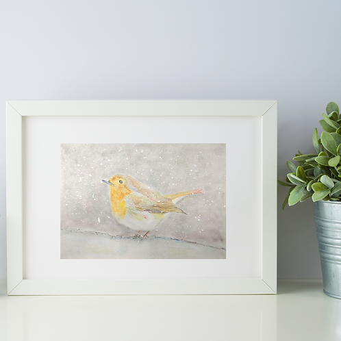 Animal Aura - Robin print
