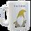 Thumbnail: Cornish Gnome Mug - Dreckly - ceramic and handprinted, personalise option