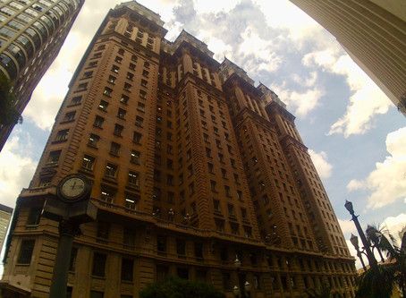 """A """"new"""" and free amazing viewpoint in Sao Paulo. Edificio Martinelli is open again to visi"""